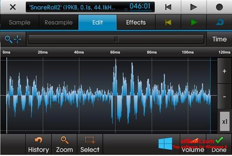 Screenshot NanoStudio Windows 8