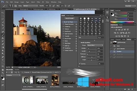 Screenshot Adobe Photoshop Windows 8