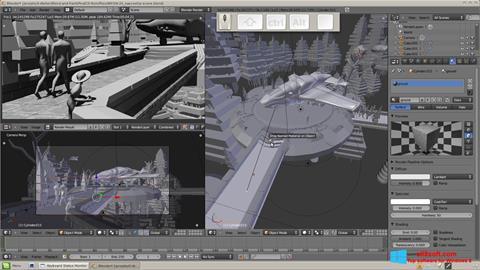 Screenshot Blender Windows 8