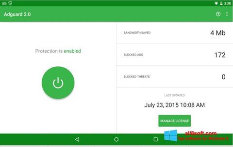 Screenshot Adguard Windows 8