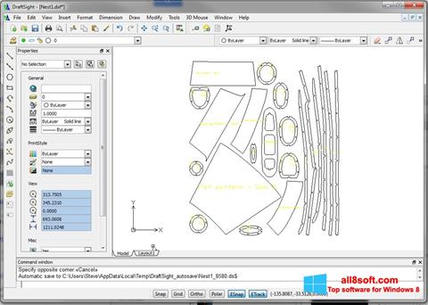 Screenshot DraftSight Windows 8