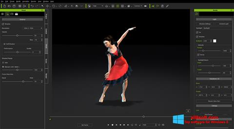 Screenshot iClone Windows 8