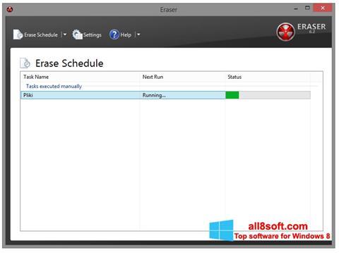 Screenshot Eraser Windows 8