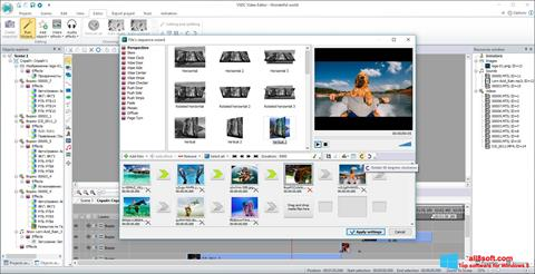 Screenshot VSDC Free Video Editor Windows 8