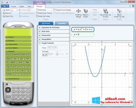 Screenshot Microsoft Mathematics Windows 8
